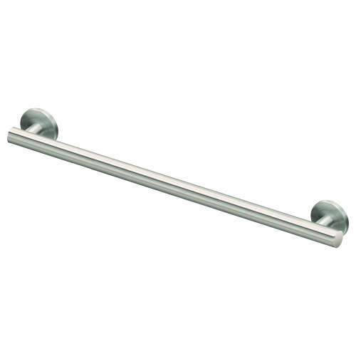 Sienna Stainless Steel 1-1/4-in Dia. 30-inch Grab Bar, in Brushed Stainless