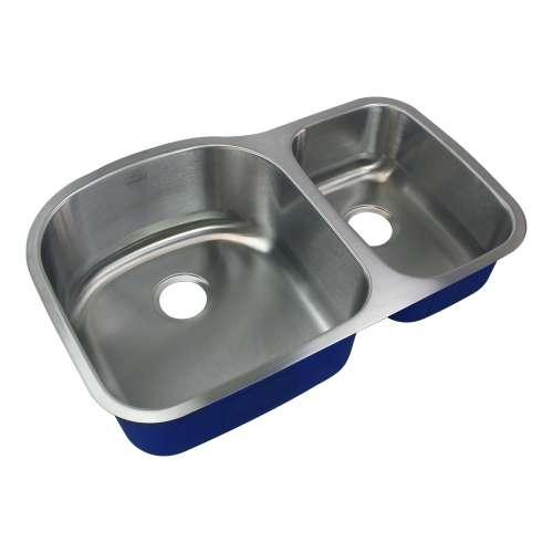 Transolid Meridian Stainless Steel 32-in Undermount Kitchen Sink