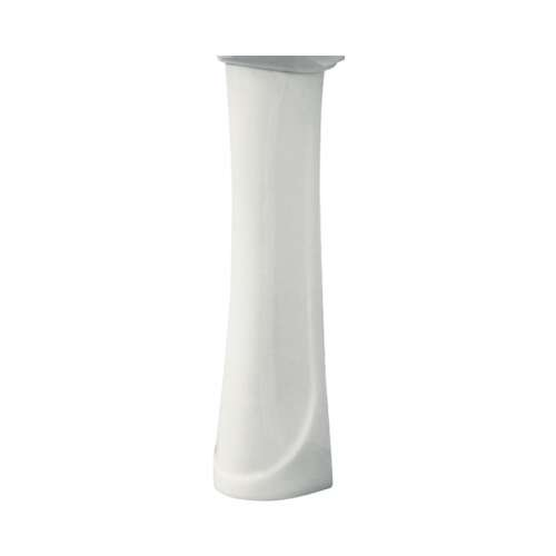 Transolid Madison Grande Vitreous China Pedestal Leg for use with TL-1414 Lavatory Sink, in White