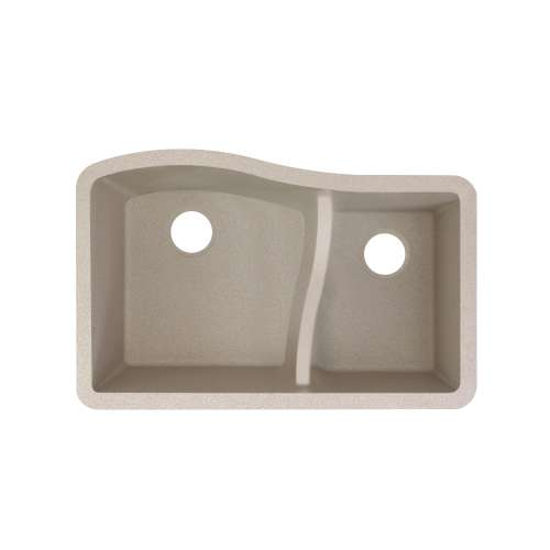 Transolid Aversa SilQ Granite 32-in. Undermount Kitchen Sink within Cafe Latte