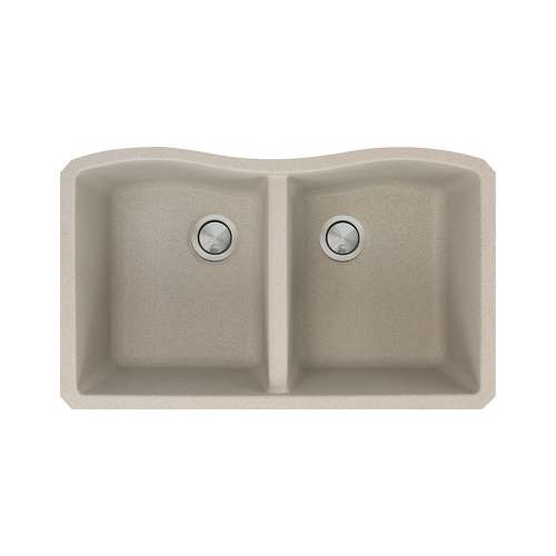 Transolid Aversa Granite 32-in Undermount Kitchen Sink