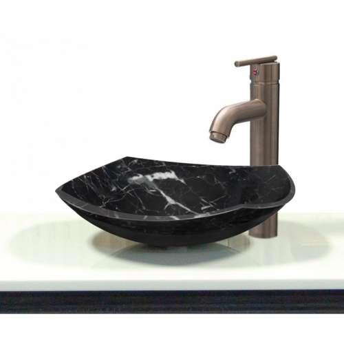 Transolid Joelle Marble 15.75-in Vessel Sink