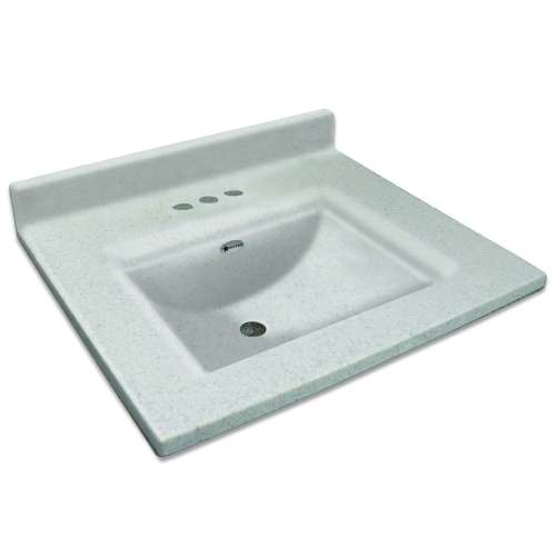 Transolid Savannah 61-in Premium Cultured Marble Vanity Top with Integrated Sink