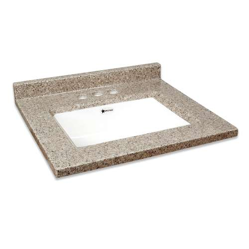 Transolid Kinsey 37-in Premium Cultured Marble Vanity Top with Undermount Sink