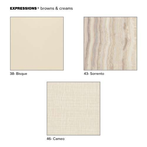 Transolid Expressions Sample Kit in Brown and Cream