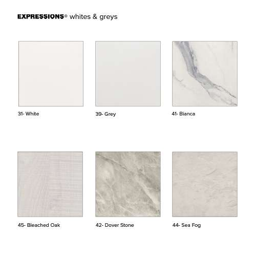 Transolid Expressions Sample Kit in White and Grey
