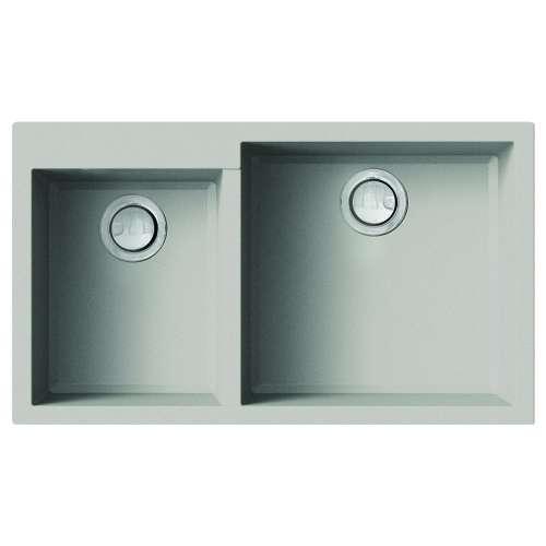 Transolid Quantum Granite 33-in Undermount Kitchen Sink