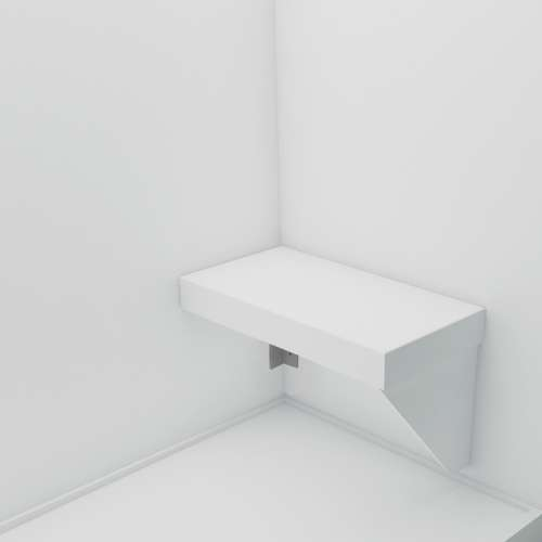 Transolid Studio Rectangular Shower Seat RSSK2412-01-M