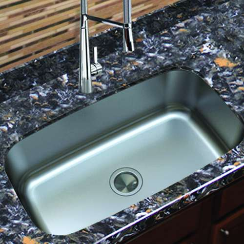Transolid Select Super Single Stainless Steel Kitchen Sink
