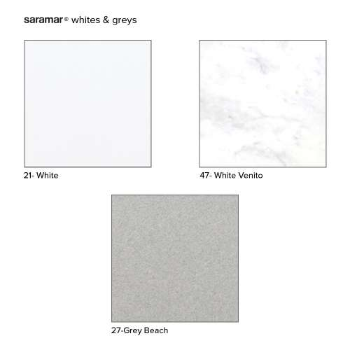 Transolid Saramar Sample Kit in White and Grey