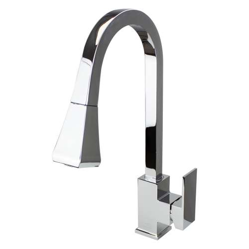 Transolid Kent Pull-Out Kitchen Faucet in Polished Chrome