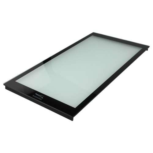 Transolid Glass Cutting Board for top mount Aversa, Radius silQ granite sinks