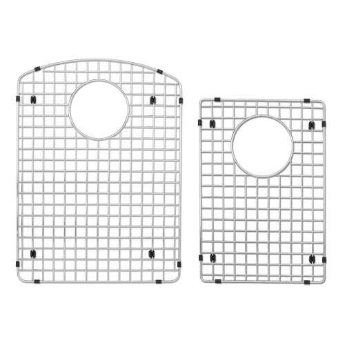 Transolid Bottom Stainless Steel Sink Grid Set for Aversa ATDD3322, AUDD3120 silQ Granite Kitchen Sinks