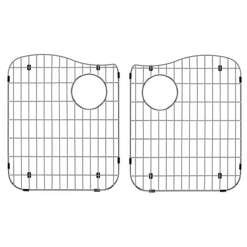 Transolid Bottom Stainless Steel Sink Grid Set for Aversa ATDE3322, AUDE3219 silQ Granite Kitchen Sinks
