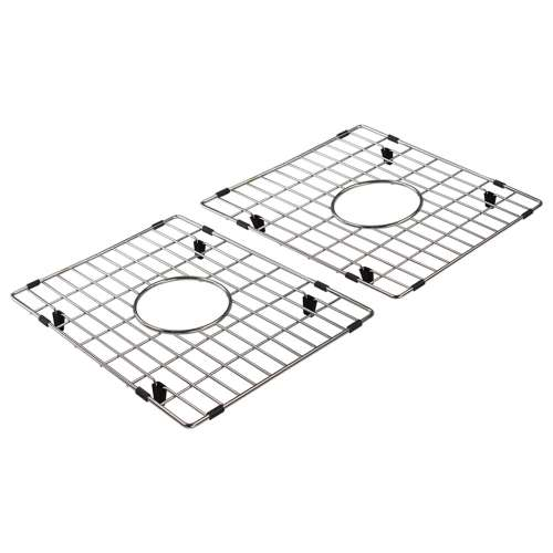 Transolid Bottom Stainless Steel Sink Grid Set for FUDC332010, FUDF332010, FUDH332010, FUDM331810, FUDR332010 Fireclay Kitchen Sinks