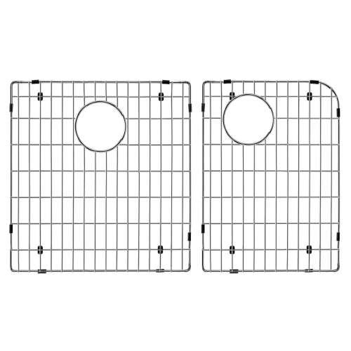 Transolid Stainless Steel 14.48-in. Bottom Sink Grid Set for Radius RTDJ3322, Radius RUDJ3118
