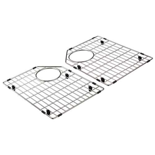 Transolid Stainless Steel 12.75-in. Bottom Sink Grid Set for FUDT32209
