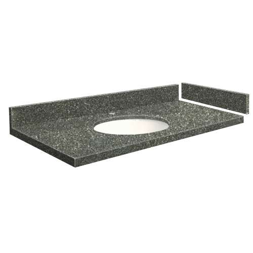 43.5 in. Quartz Vanity Top in Greystone