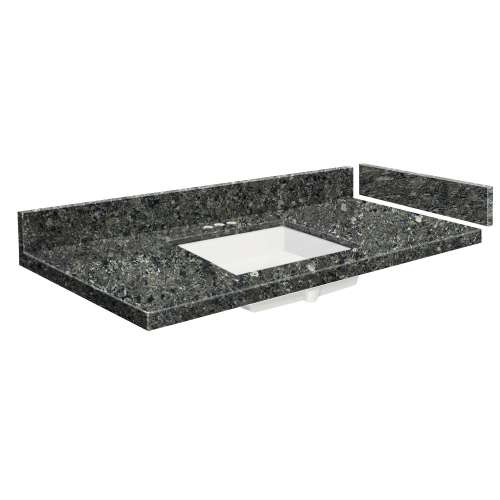 43.5 in. Quartz Vanity Top in Tempest with 4in Centerset