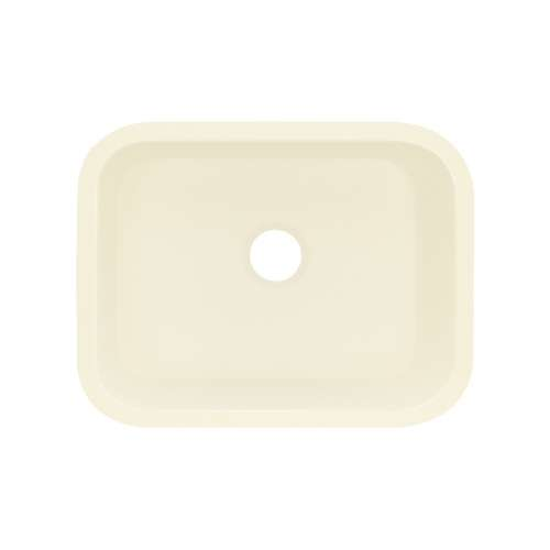 Transolid Roma Solid Surface 23-in Undermount Kitchen Sink