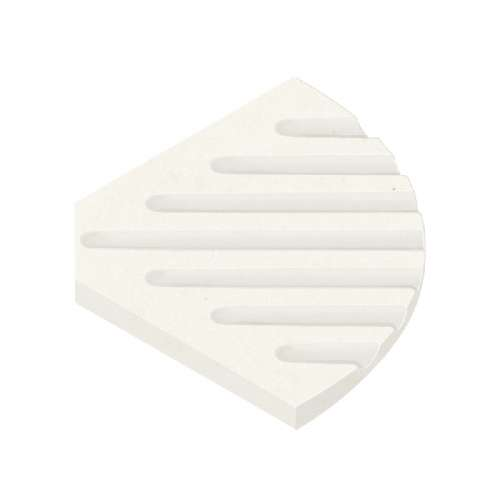 Transolid Decor 5-1/2-In Corner Soap Dish