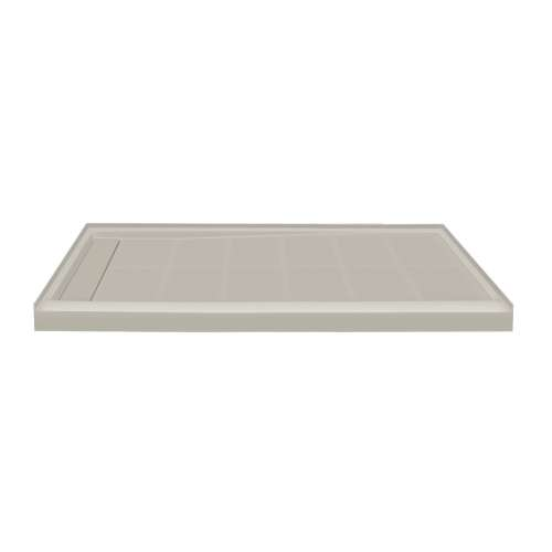 Transolid Linear 60-in x 36-in Rectangular Alcove Shower Base with Left Hand Drain
