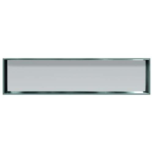 Transolid Studio 58.5-in. Recessed Solid Surface Shower Storage Pod - In Multiple Colors STH5814-SS-M2