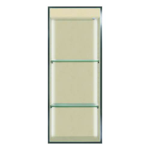 Transolid Studio 34.5-in. Recessed Solid Surface Shower Storage Pod STVL3414-SS86