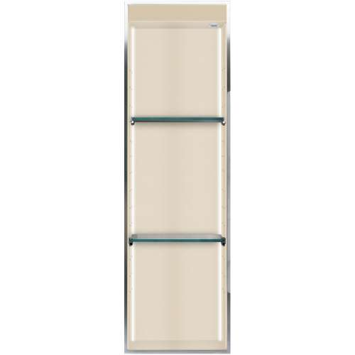 Transolid Studio 46.5-in. Recessed Solid Surface Shower Storage Pod STVL4614-SS08