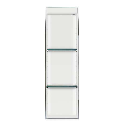Transolid Expressions 46.5-in. Recessed Expressions Composite Material Shower Storage Pod - In Multiple Colors STVL4614-SS-M3