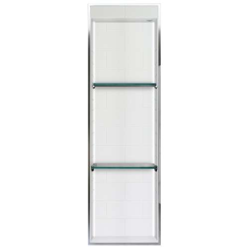 Transolid Saramar 46.5-in. Recessed SaraMar Material Shower Storage Pod - In Multiple Colors STVL4614-SS-M1