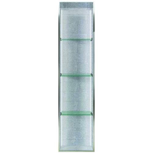 Transolid Saramar 58.5-in. Recessed SaraMar Material Shower Storage Pod STVL5814-SS27