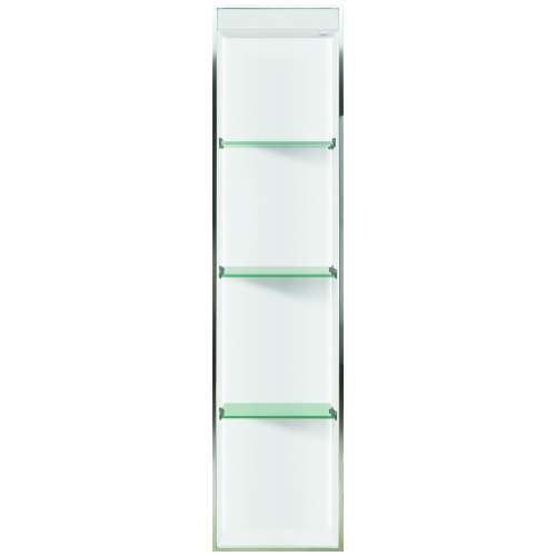 Transolid Studio 58.5-in. Recessed Solid Surface Shower Storage Pod - In Multiple Colors STVL5814-SS-M2